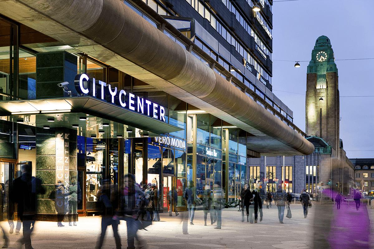 Shopping Centre Citycenter, Helsinki